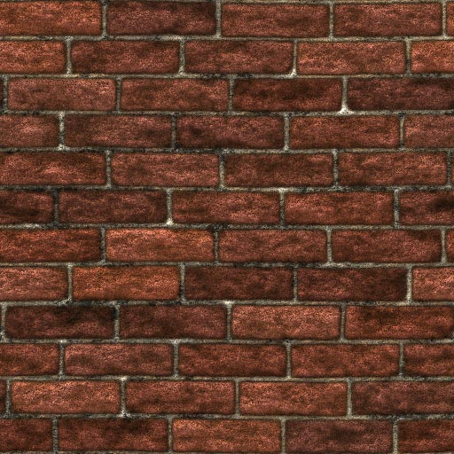 Old brick seamless tiling pattern 4