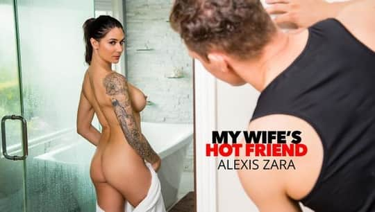 Alexis Zara in Alexis Zara fucks her trainer and best friend's husband - Naughty America