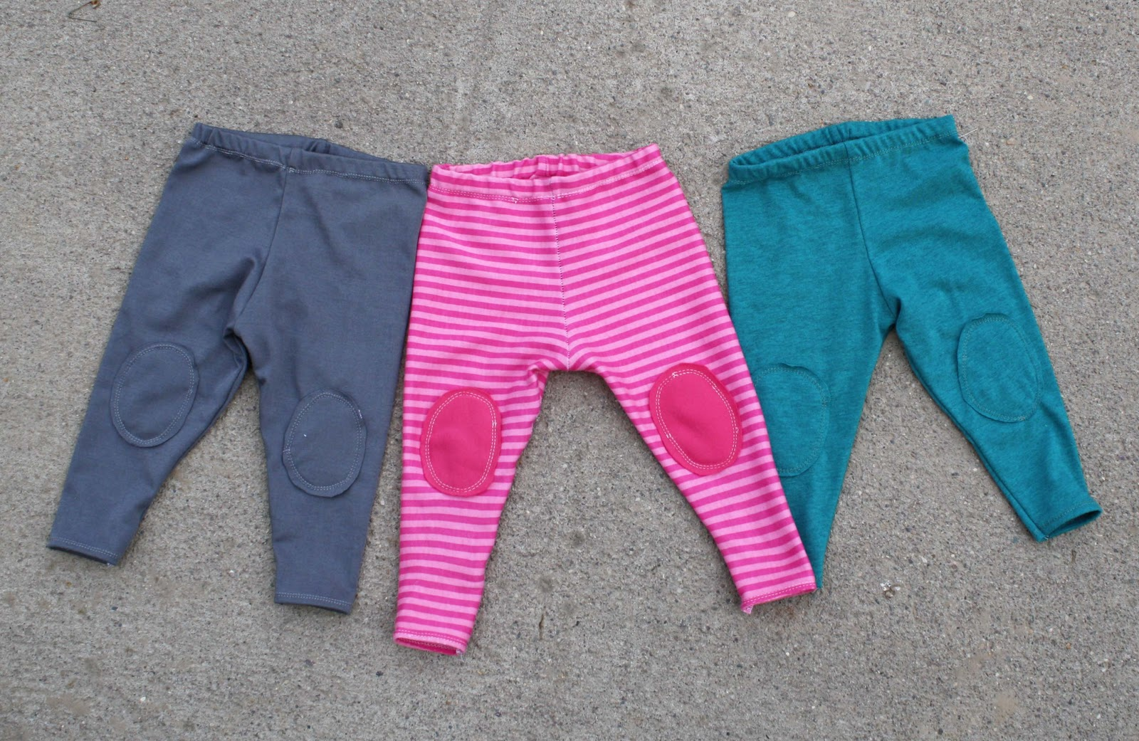 4a3e39492 Running With Scissors  Baby Leggings with knee pads