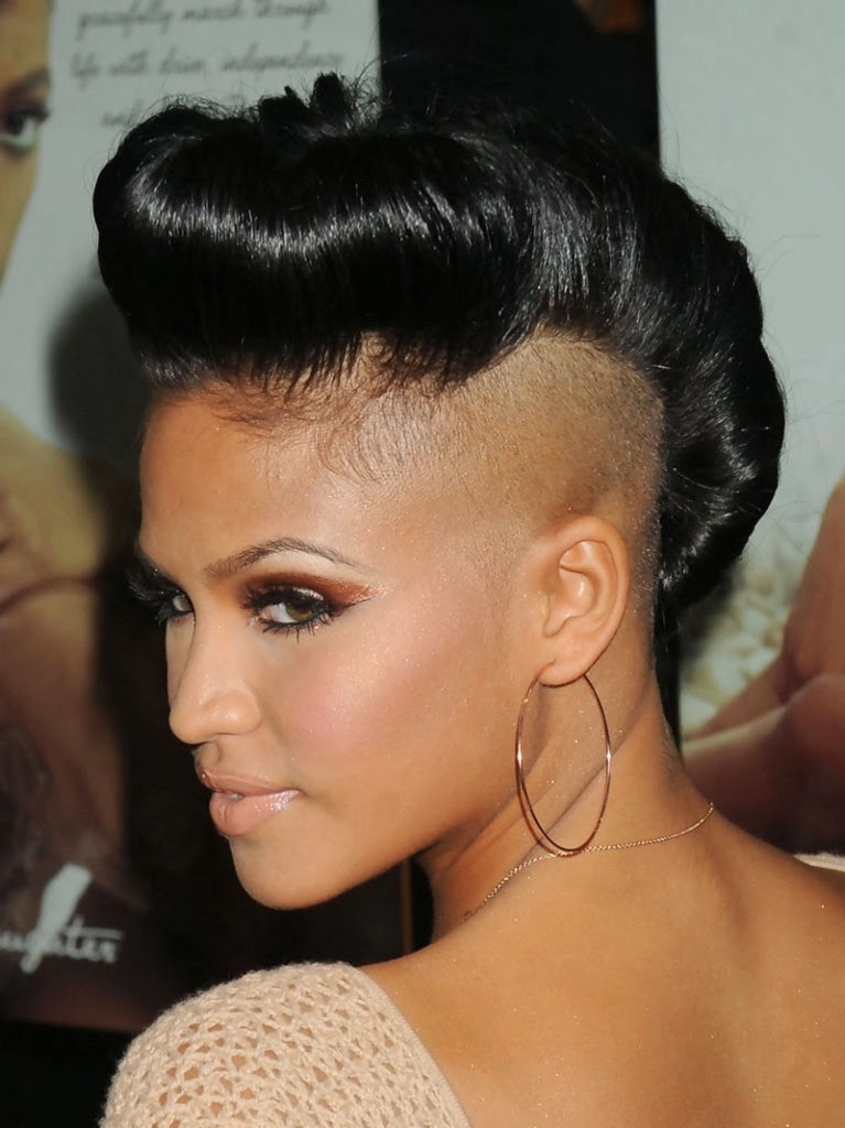 Fantastic Exotic Mohawk Hairstyles For Black Short Hairstyles Gunalazisus