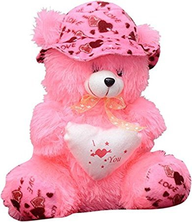Romantic I Love You Pink Teddy Bear