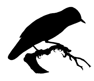 bird silhouette digital download crafting clip art