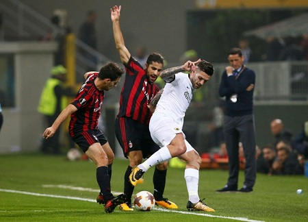 AEK Atenas x Milan