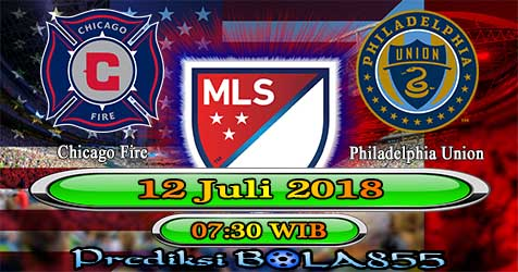 Prediksi Bola855 Chicago Fire vs Philadelphia Union 12 Juli 2018