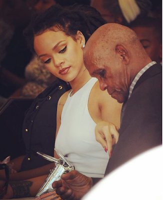 Rihanna shares beautiful photos of her parents