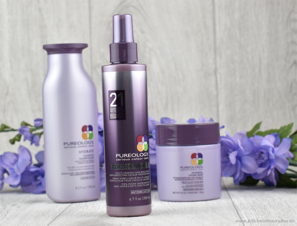 Pureology Hydrate Haarpflegeserie - Review & Erfahrung