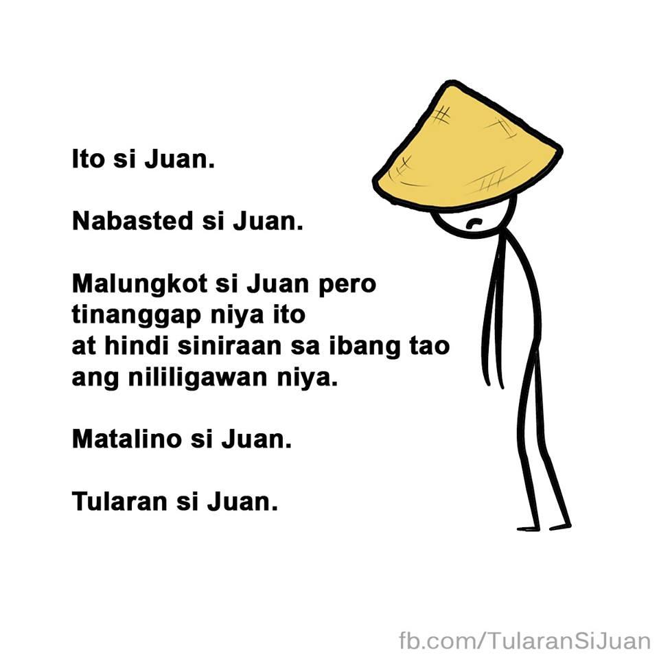 Tularan si Juan meme 1