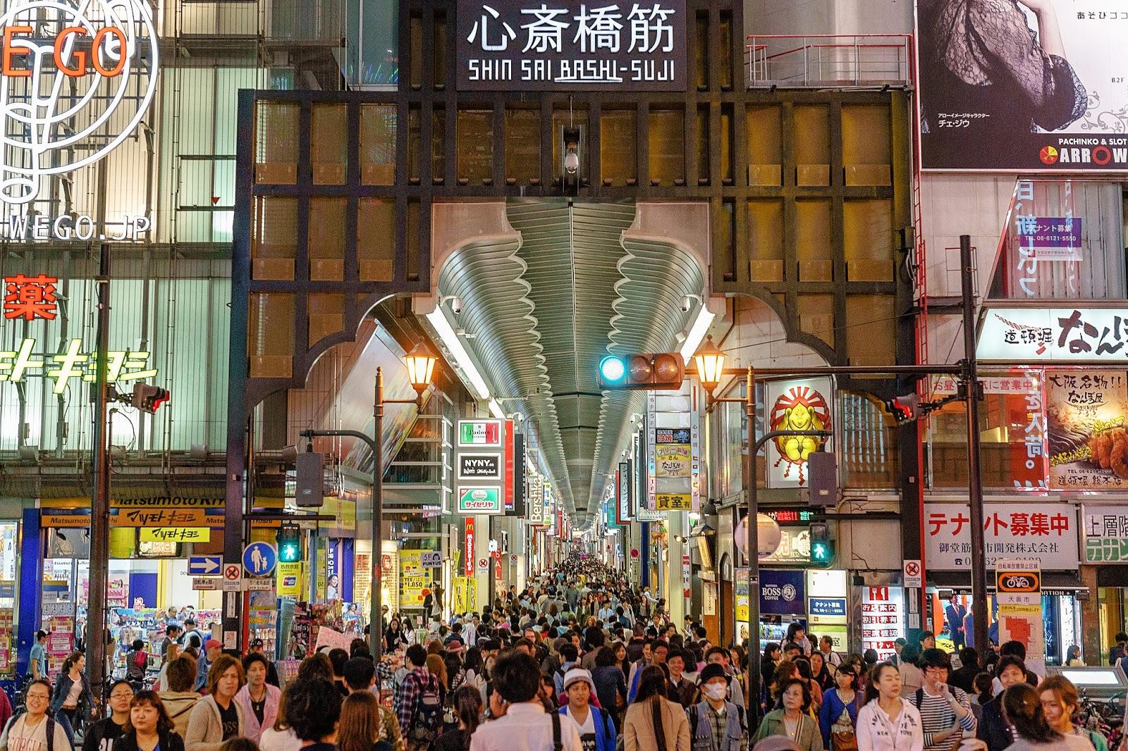 大阪-景點-推薦-心齋橋-逛街-購物-自由行-必遊-必去-旅遊-觀光-行程-日本-osaka-tourist-attraction-travel