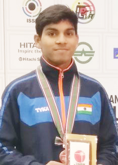 International shooter Anmol Jain congratulated the winning silver and gold medal in Japan