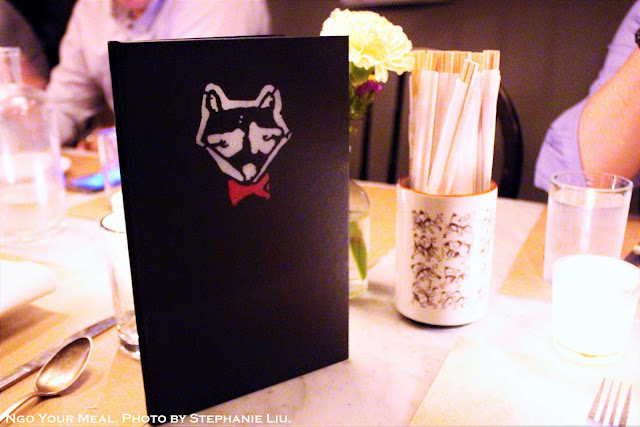 Menus at Dinnertable in New York City