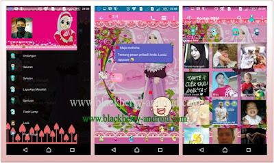 BBM Mod Tema Anime Muslimah New V.2.12.0.11 APK