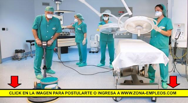 PERSONAL DE MAESTRANZA PARA HOSPITAL