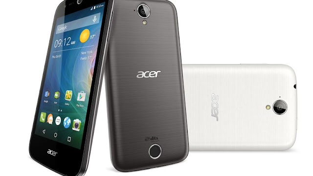 Acer Liquid Z630 Specifications - LAUNCH Announced 2015, September DISPLAY Type IPS LCD capacitive touchscreen, 16M colors Size 5.5 inches (~68.8% screen-to-body ratio) Resolution 720 x 1280 pixels (~267 ppi pixel density) Multitouch Yes BODY Dimensions 156.3 x 77.5 x 8.9 mm (6.15 x 3.05 x 0.35 in) Weight 165 g (5.82 oz) SIM Single SIM (Micro-SIM) or Dual SIM (Micro-SIM, dual stand-by) PLATFORM OS Android OS, v5.1 (Lollipop) CPU Quad-core 1.3 GHz Cortex-A53 Chipset Mediatek MT6735 GPU Mali-T720MP2 MEMORY Card slot microSD (dedicated slot) Internal 8 GB, 1 GB RAM 16 GB, 2 GB RAM CAMERA Primary 8 MP, autofocus, LED flash Secondary 8 MP Features Geo-tagging, touch focus, face detection, HDR, panorama Video Yes NETWORK Technology GSM / HSPA / LTE 2G bands GSM 850 / 900 / 1800 / 1900 - SIM 1 & SIM 2 (dual-SIM model only) 3G bands HSDPA 4G bands LTE Speed HSPA, LTE GPRS Yes EDGE Yes COMMS WLAN Yes GPS Yes, with A-GPS USB microUSB v2.0, USB On-The-Go Radio  Bluetooth v4.0, A2DP FEATURES Sensors Accelerometer, proximity, compass Messaging SMS(threaded view), MMS, Email, Push Mail, IM Browser HTML5 Java No SOUND Alert types Vibration; MP3, WAV ringtones Loudspeaker Yes 3.5mm jack Yes BATTERY  Removable Li-Ion 4000 mAh battery Stand-by Up to 1030 h Talk time Up to 22 h Music play  MISC Colors Black  - MP3/WAV/AAC/Flac player - MP4/H.264 player - Photo/video editor - Document viewer