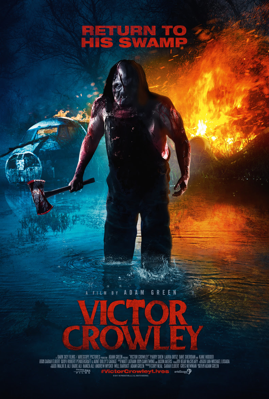 Victor Crowley has Set His Sights on a Few Plane Crash Survivors in