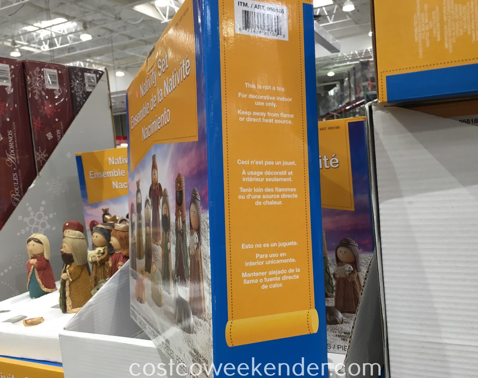 Costco 955186 - Nativity Set - great addition to your holiday decorations