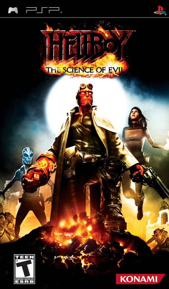 Hellboy - The Science of Evil - PSP - ISO Download