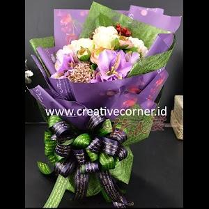 Kertas Buket Bunga / Hand Bouquet Seri CS-060060-Hijau