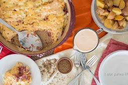 BLT Dip – Low Carb, Gluten Free, THM S #vegan #recipevegetarian