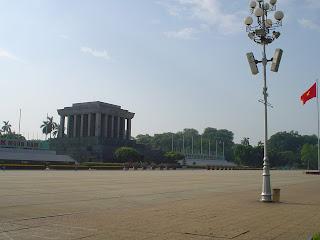 Tombeau de Ho Chi Minh à Hanoi