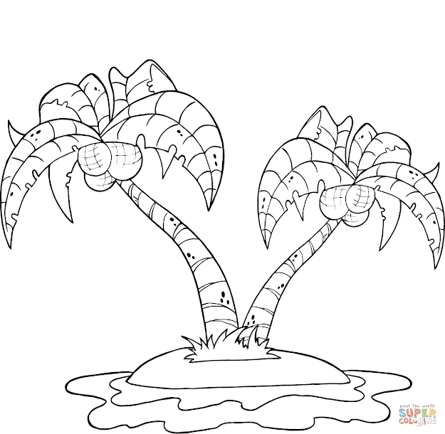 Island Coloring Pages To View Printable Version Or Color It Online  Patible With Ipad And Android Tablets