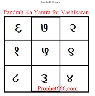 15 Che Yantra for Akarshan