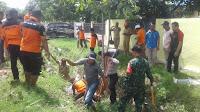 Buktikan Kerja Nyata, Kades Terpilih Desa Kalampa Terjun Gotong-Royong