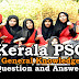 Kerala PSC General Knowledge Question and Answers - 52