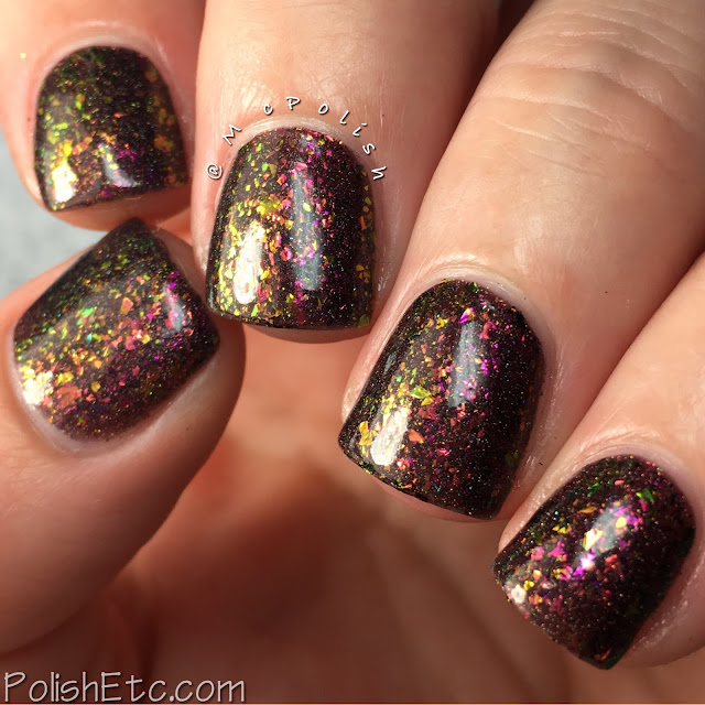 Top Shelf Lacquer - Holiday Flake Out Collection - McPolish - Chocolate Raspberry Martini