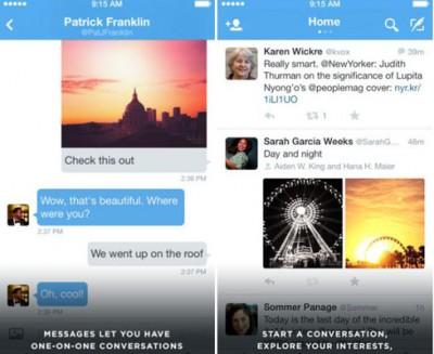 Update Twitter di iOS dan Android, Kini Bisa Akses DM Lama Anda