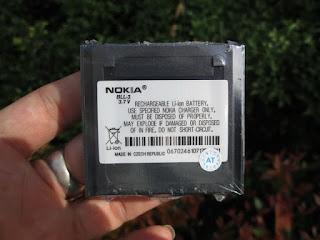 Baterai Hape Jadul Nokia 9110 Communicator Baru Langka