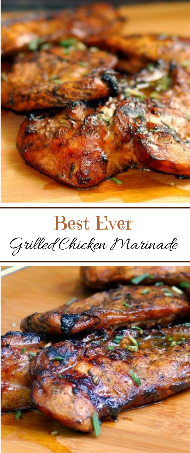 The BEST EVER Grilled Chicken Marinade #Summerrecipe #Grilled
