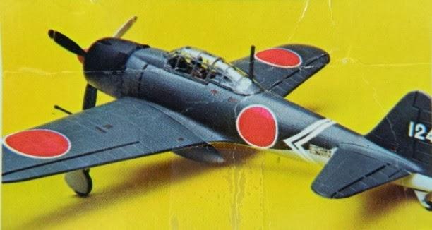 Antiques Texas City: Vintage 1970's Model Airplane Kit