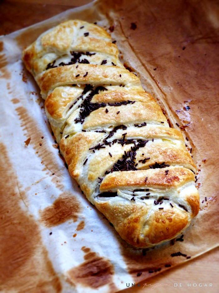 trenza de chocolate-con-nutella