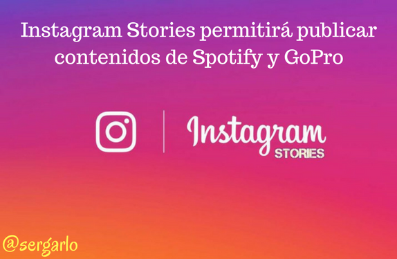 Instagram, stories, spotify, GoPro, redes sociales, social media,