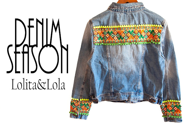 cazadora vadera   denim jacket