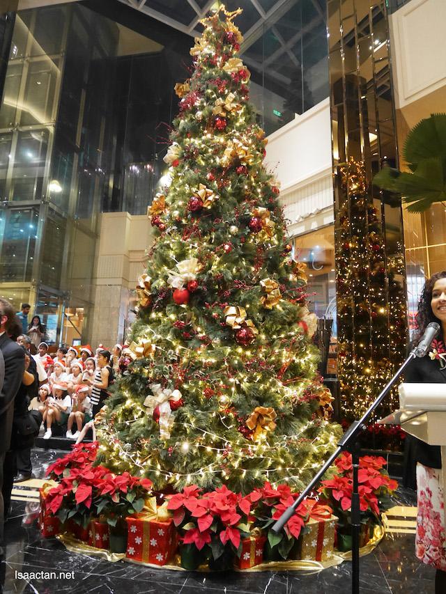 Grand Millennium Kuala Lumpur's Annual Christmas Tree Lighting