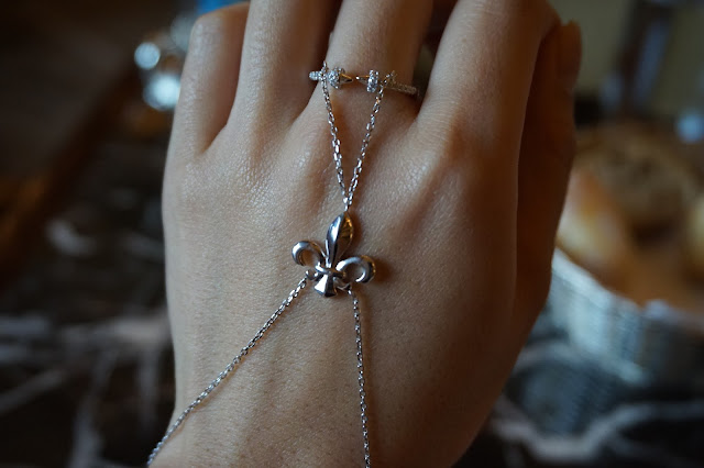 star harvest jewelry jewellry manufacturer china Anchor Slave Finger Bracelet