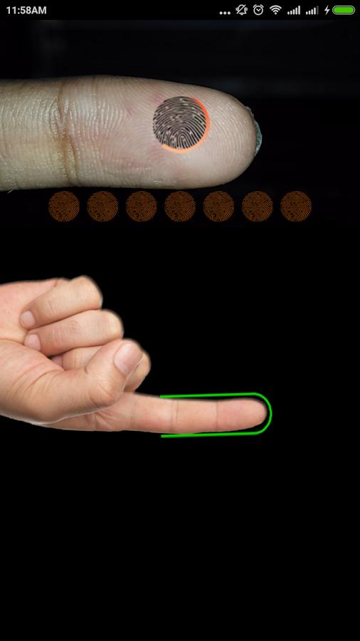 fingerprint app apk