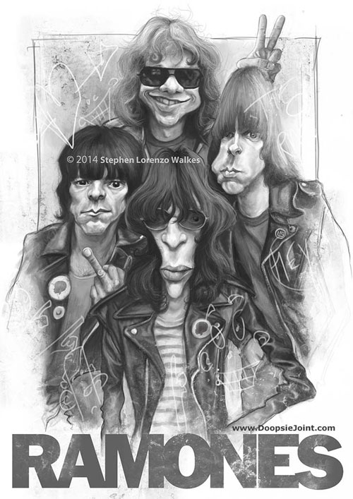 """The Ramones"" por Stephen Lorenzo Walkes"