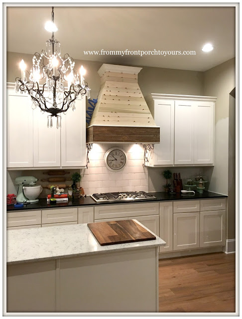 diy farmhouse kitchen updates-range hood-from my front porch to yours