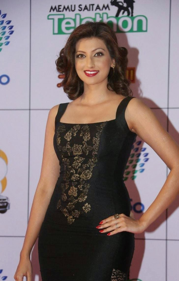 Telugu Actress Hamsa Nandini, Hamsa NandiniHot Hd Pics in Black Dress