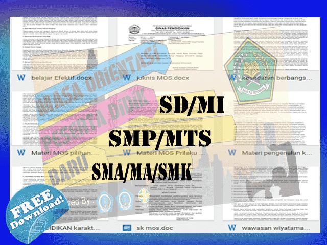 Download Contoh Juknis, SK dan Materi Masa Orientasi Siswa (MOS/MOPDB) 2016
