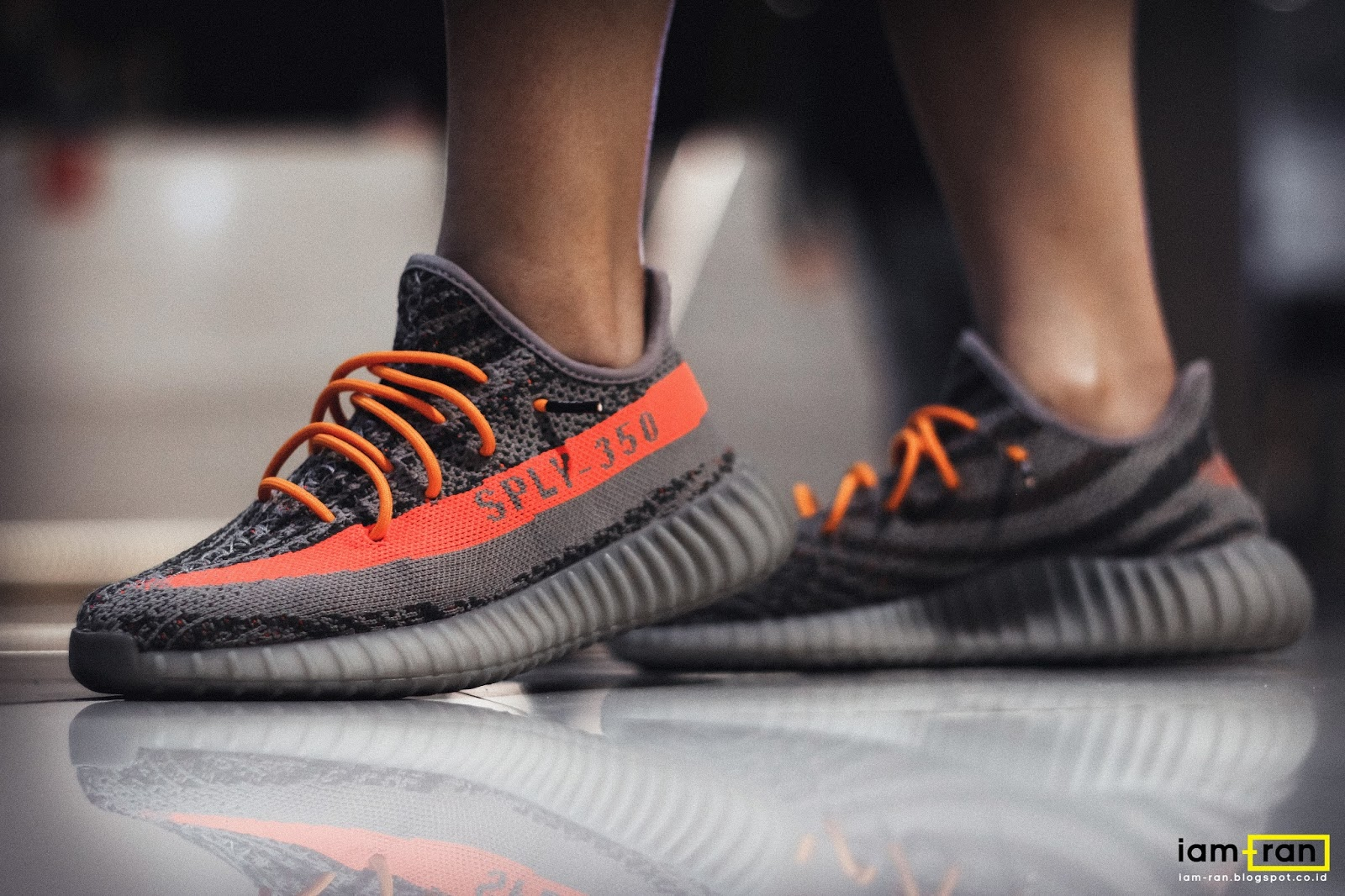 b5d71c4072d48 Agnes on feet. Sneakers   Adidas Yeezy boost 350 low v2
