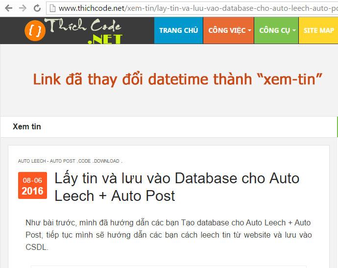 Thay đổi link cho Blogspot (không có label và datetime trong url)