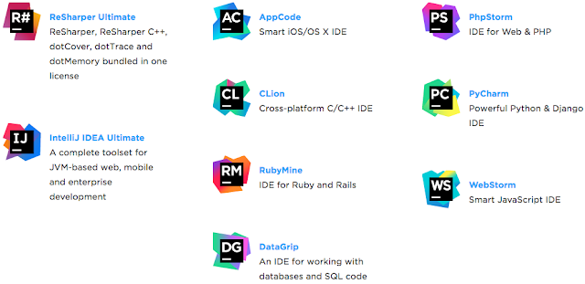 JetBrains developer tools student free