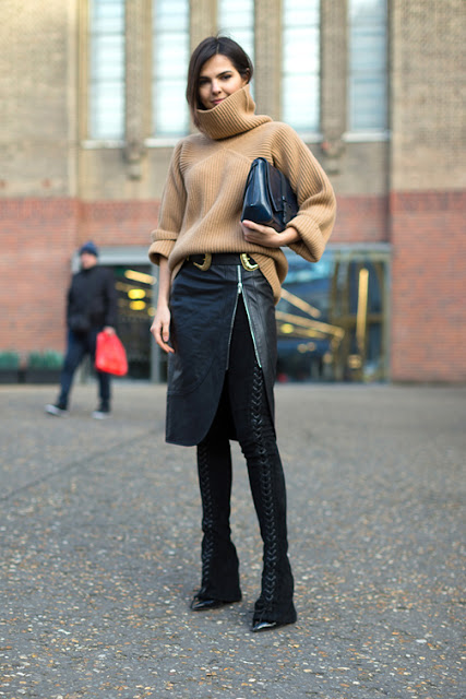 skirt over pants, fall layered outfits
