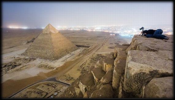giza 4 - Increíbles fotos de la parte superior de la pirámide de Giza