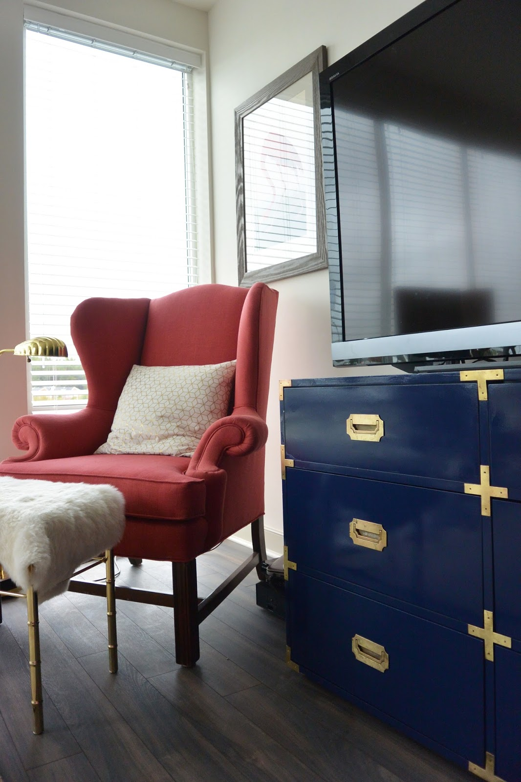 Campaign Furniture Hardware Hack Stripes And Whimsy