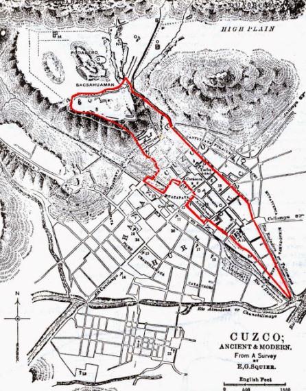 TAWANTINSUYO: Así fue el Cusco prehispánico Forma-del-puma-del-cusco