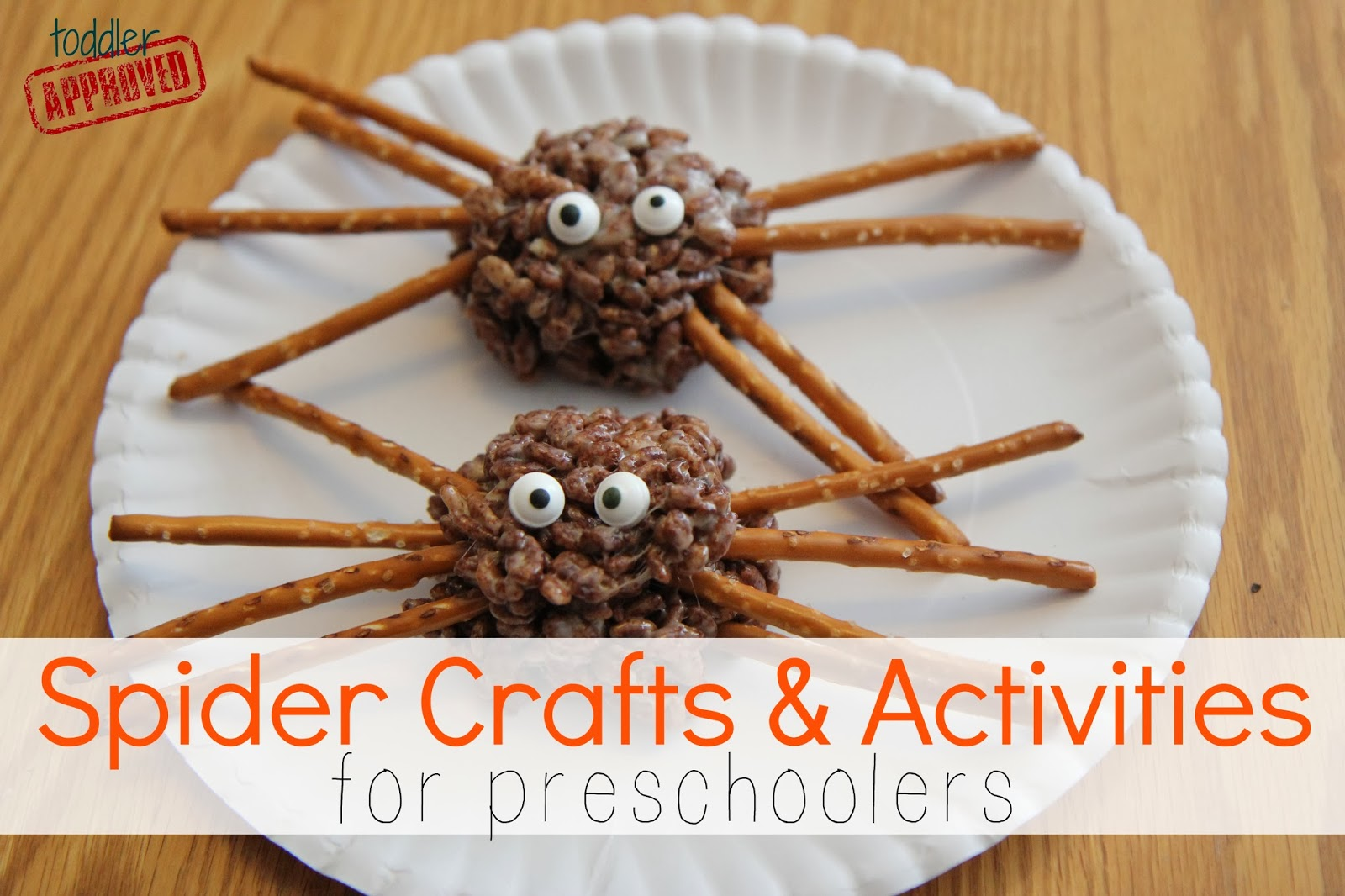 Toddler Approved Spider Crafts Activities For Preschoolers